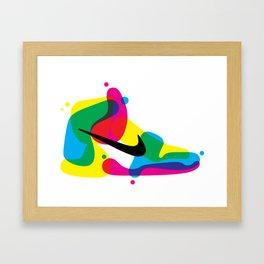 AJ1 Framed Art Print