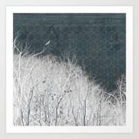 all-night dream Art Print