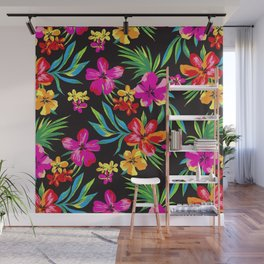 Brilliant floral pattern Wall Mural