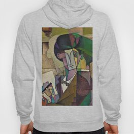 Young Man With A Fountain Pen - Diego Rivera Hoody