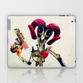 Invader Skull Laptop & iPad Skin