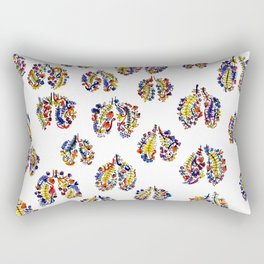 Breathe in Nature's Colors Rectangular Pillow