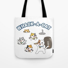 WHACK-A-CAT Tote Bag