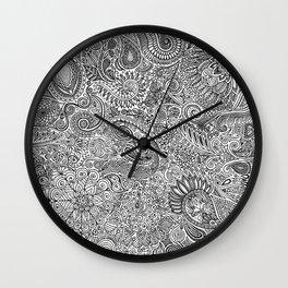 Fairy arabesque Wall Clock