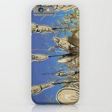 Human cornfield /Maizal humano iPhone 6s Slim Case