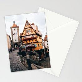 Rothenburg Ob Der Tauber Bavaria Germany Stationery Cards