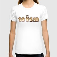 hamster T-shirts featuring Fancy Hamster by Mr. And Mrs. Inky Hands
