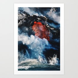 Fire and Fury Art Print