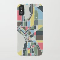 seattle iPhone & iPod Cases featuring Seattle. by Studio Tesouro
