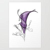 a false flower Art Print