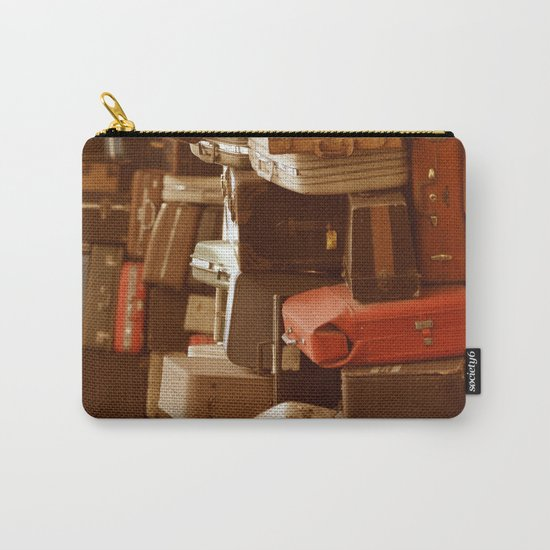 TOWER OF LUGGAGE Carry-All Pouch