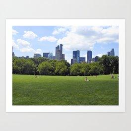 Central Park New York Art Print