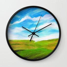 Palouse Wall Clock