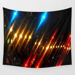 NIGHT LIGHTS Wall Tapestry