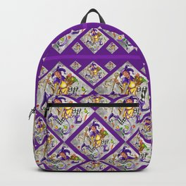 Peace, Plenty and Happiness Fool Backpack