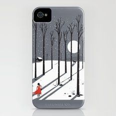 little red cap iPhone (4, 4s) Slim Case