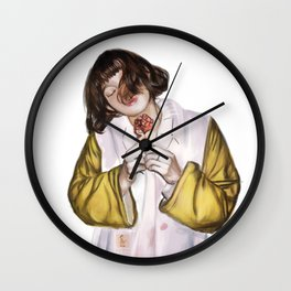 Safe And Sound Wall Clock