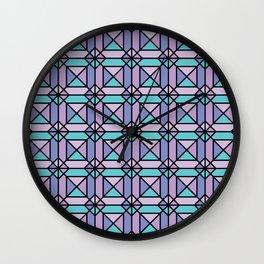 Aesthetics: abstract pattern Wall Clock