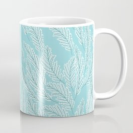 Pattern with delicate white flowers Coffee Mug