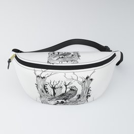 The Black Crow Fanny Pack