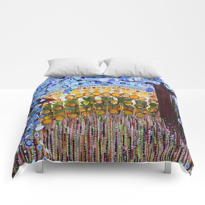 :: Indiana Blue Willow :: Comforters