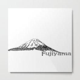 Japan   FUJIYAMA Metal Print
