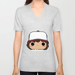 Dustin Pop! - ST Unisex V-Neck