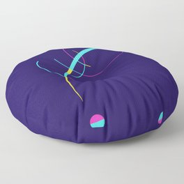 Separation and Unity Floor Pillow