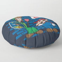 Your Princess is in Another Castle Floor Pillow