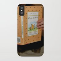 winnie the pooh iPhone & iPod Cases featuring Winnie•the•Pooh by Kearsten Taylor