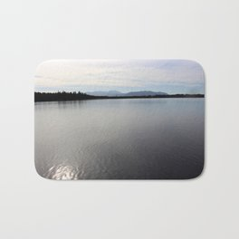 The Sea overview with Mountains Bath Mat