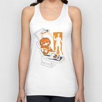 dentist Tank Tops featuring Are You Afraid of the Dentist? by Marco Angeles