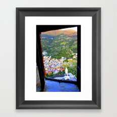 Window To The Soul Framed Art Print