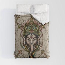Lord Ganesha - Canvas Lord Ganesha - Canvas Comforters