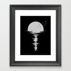 Moon Song Framed Art Print