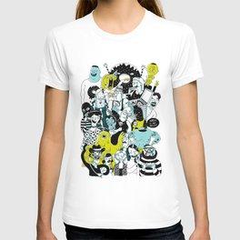 CROWD OF DUDES T-shirt