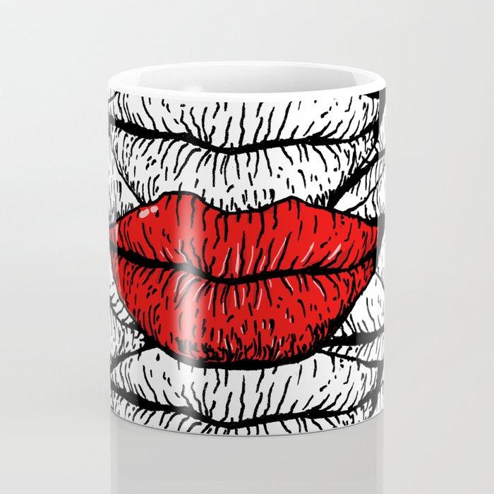 A Bunch of Kisses Coffee Mug
