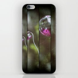 Glass And Good Luck iPhone Skin