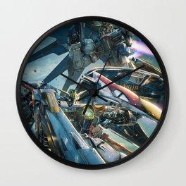 Gundam mobile Wall Clock