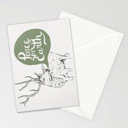 Christmas Carol Elk Stationery Cards