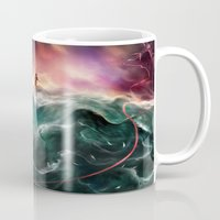 returns Mugs featuring Swallow Returns Home by Lappisch
