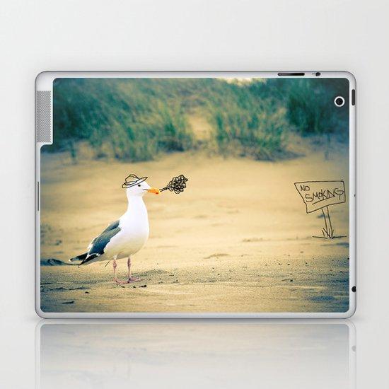 rebel gull. Laptop & iPad Skin