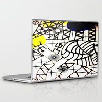 lama Laptop & iPad Skins featuring Nissi Lama by MIMI & CHIC DESIGNS