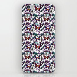 Dragonfly and Monarch Butterfly Fantasy iPhone Skin