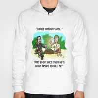 lost in translation Hoodies featuring LOST in Translation...  The game that goes on FOREVER! by beetoons