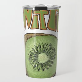 Kiwifruit. Travel Mug
