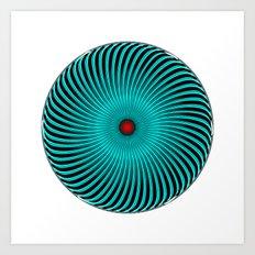 Circle Study No. 419 Art Print