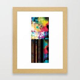 Ultraviolet Rain Framed Art Print