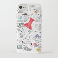 john green iPhone & iPod Cases featuring Paper towns, John Green by Natasha Ramon