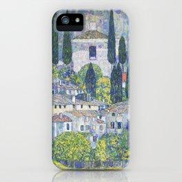 Gustav Klimt Church in Cassone iPhone Case